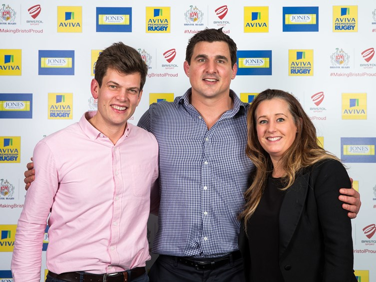 GALLERY: Bristol Rugby Player Sponsors' Dinner
