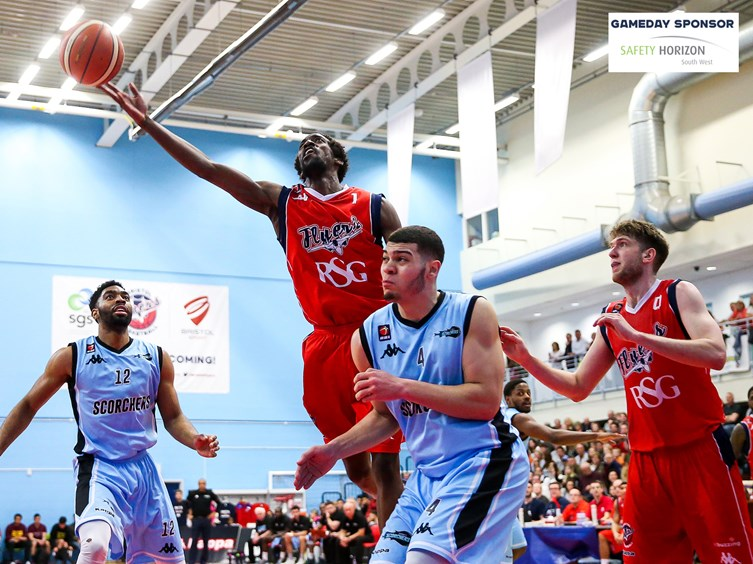 Report: Bristol Flyers 74 -85 Surrey Scorchers